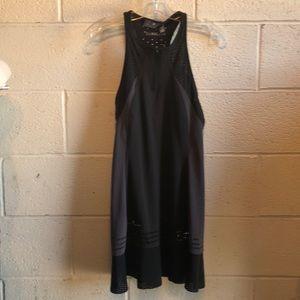 Adidas Stella McCartney black/gray dress sz s NWT